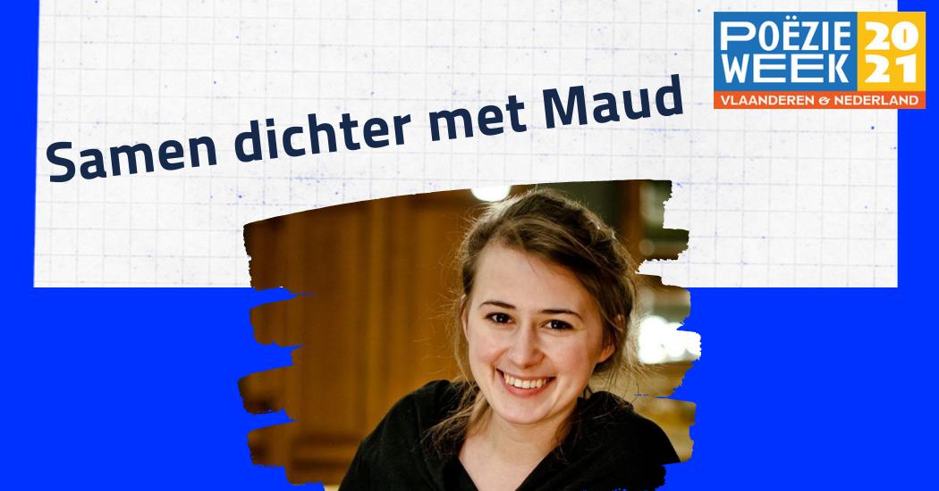 Samen dichter met Maud Vanhauwaert - Lang zullen we lezen